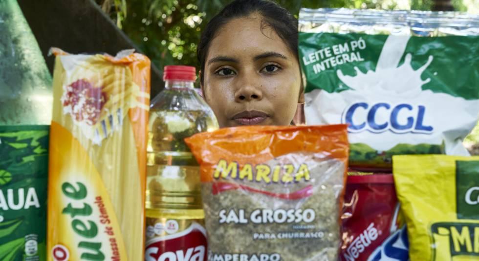 Joane cuenta que muchos problemas empezaron cuando la alimentación dejó de consistir en productos locales.