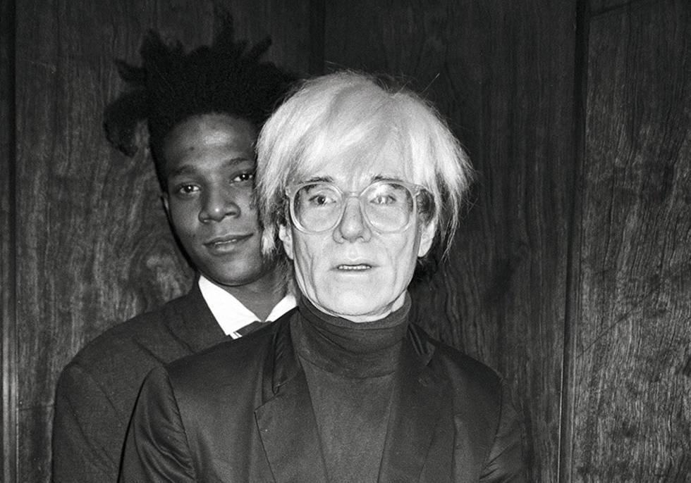 Retratos de la relación turbulenta entre Warhol y Basquiat
