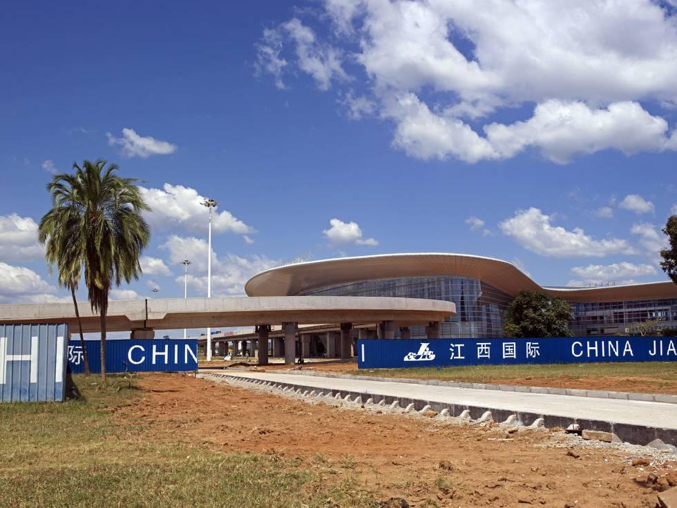 Una empresa china construye el nuevo aeropuerto de Lusaka (Zambia)