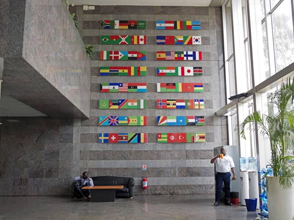 Sede del Banco Africano de Desarrollo en Abiyán.