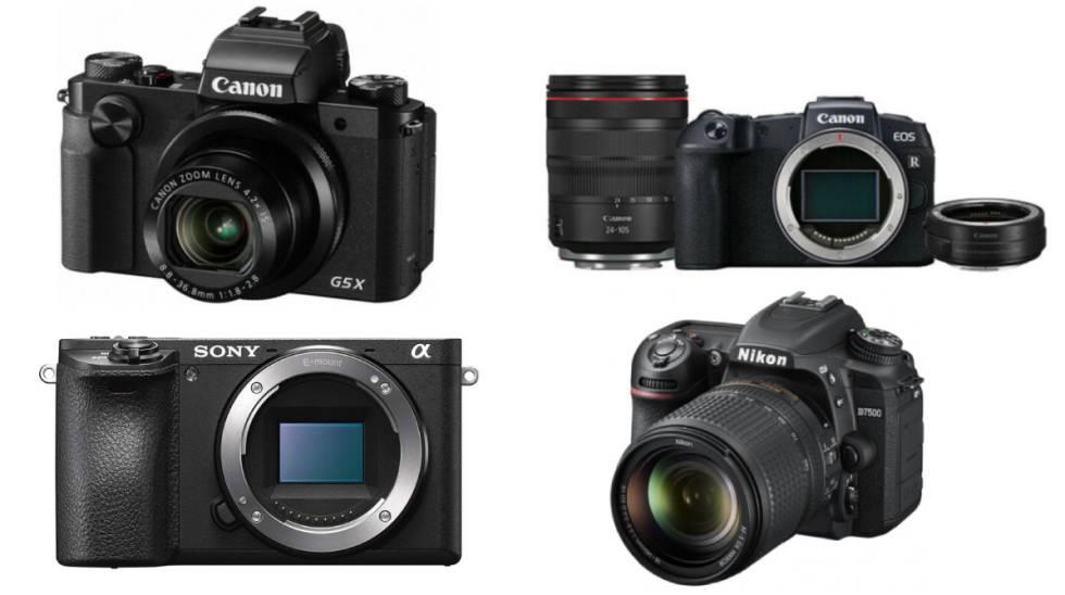 Las mejores ofertas en cámaras Canon, Nikon y Sony para amantes de la  fotografía | Escaparate | EL PAÍS