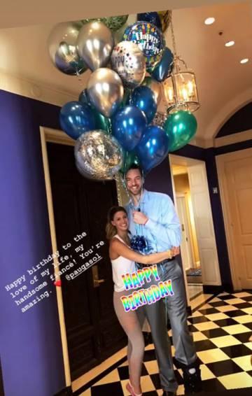 La foto por el 39 cumpleaños de Pau Gasol que publicó Catherine McDonnell en su Instagram.