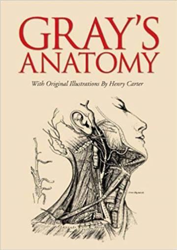 Portada de una reedición del libro de Henry Gray con las ilustraciones originales de Henry Carter.