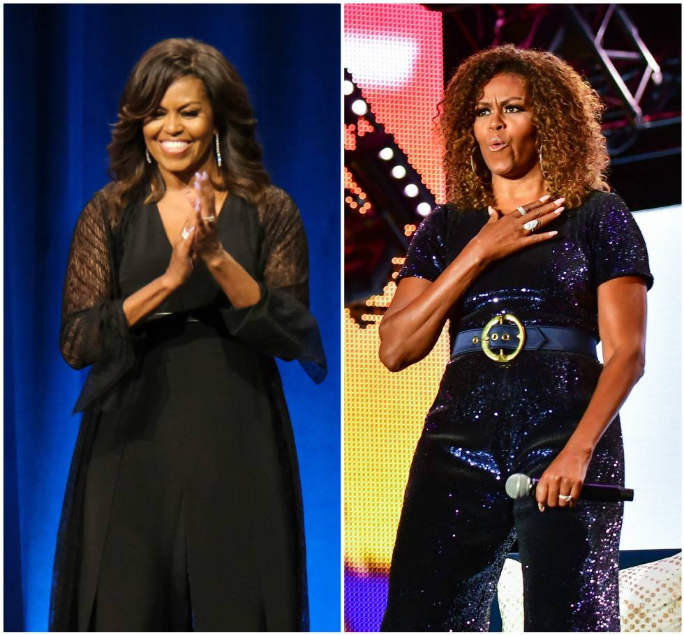 Michelle Obama e seus diferentes estilos.
