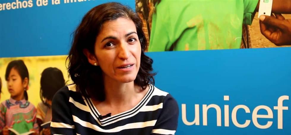 Virginia Pérez, jefa de protección de Unicef en Bolivia.