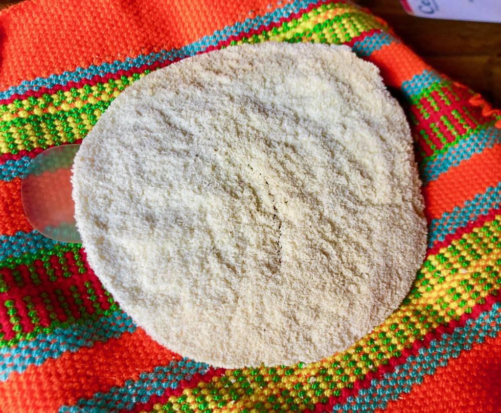 Casabe, delicadísima galleta de yuca de origen indígena Capel