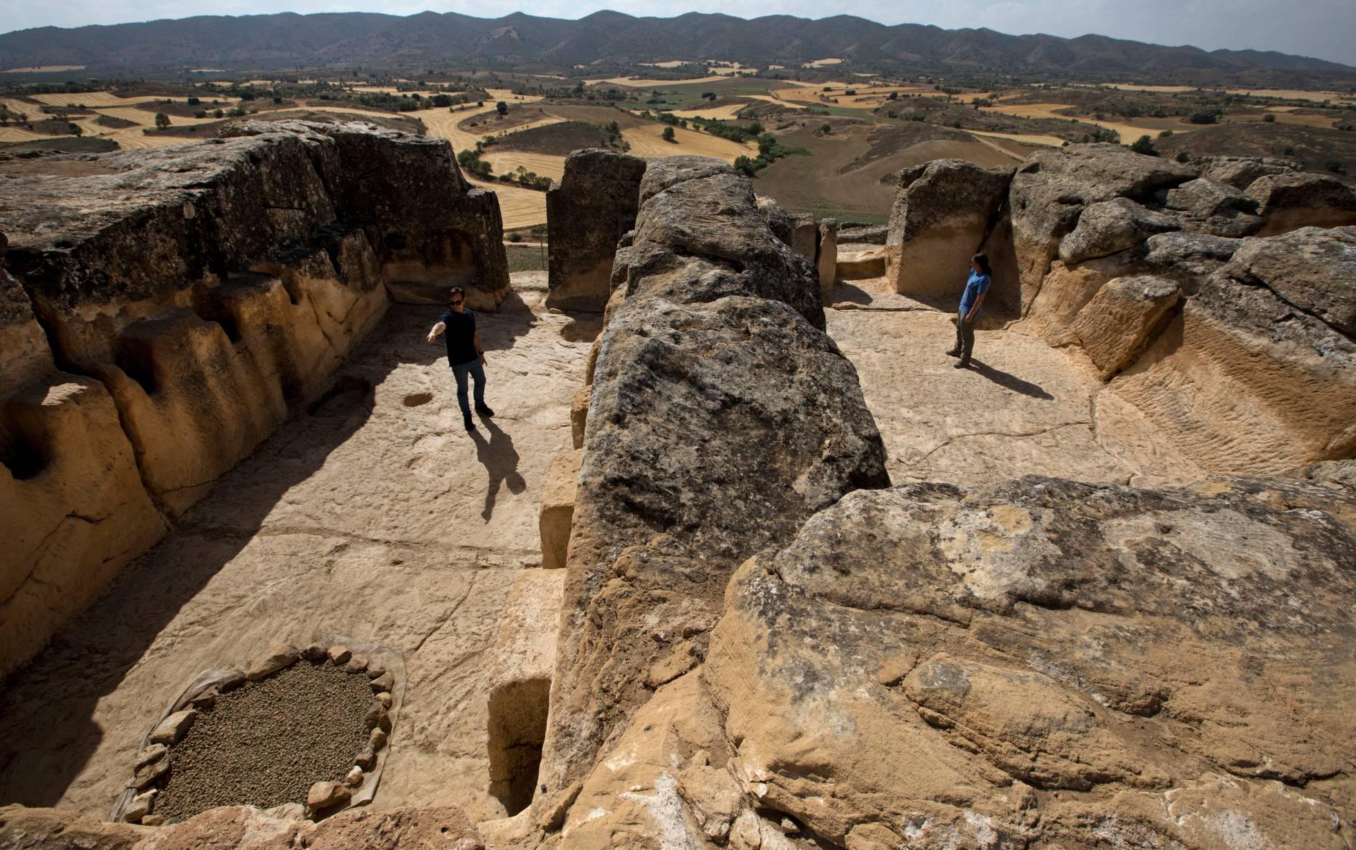 A cápsula do tempo de Garcinarro que reúne ruínas de quatro povos distintos