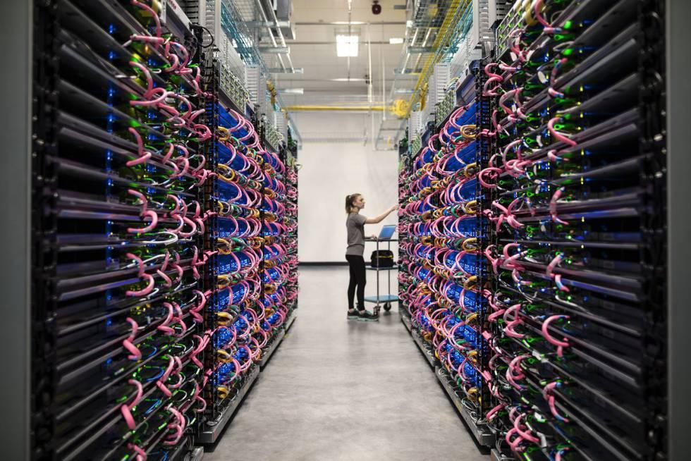 Procesadores de Google para inteligencia artificial.