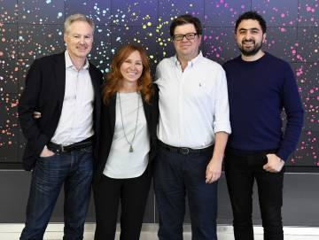 Los líderes de los proyectos de inteligencia artificial de Microsoft (Eric Horvitz), IBM (Francesca Rossi), Facebook (Yann LeCun) y DeepMind (Mustafa Suleyman) al constituir un grupo de reflexión conjunto de las grandes tecnológicas.