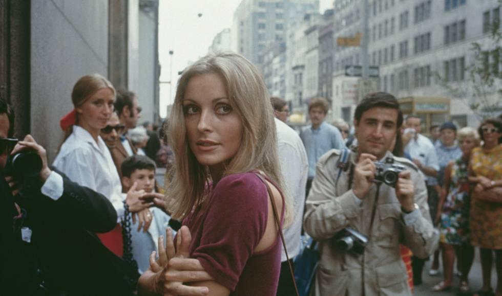 La actriz Sharon Tate, en Nueva York, en agosto de 1967.