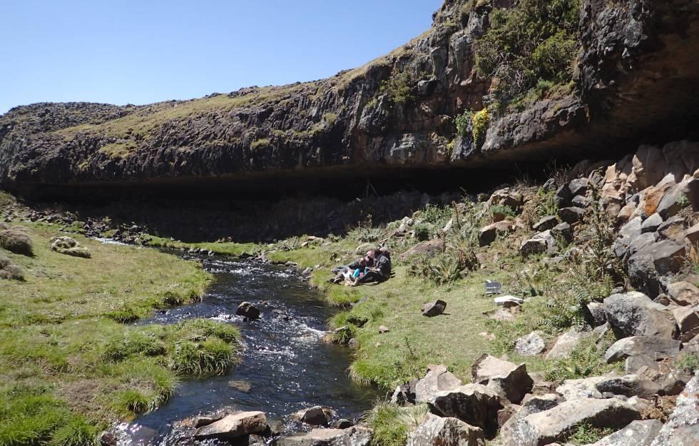 Los humanos ya conquistaron la alta montaña hace más de 40.000 años