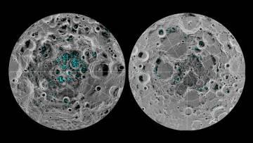 El agua de la Luna