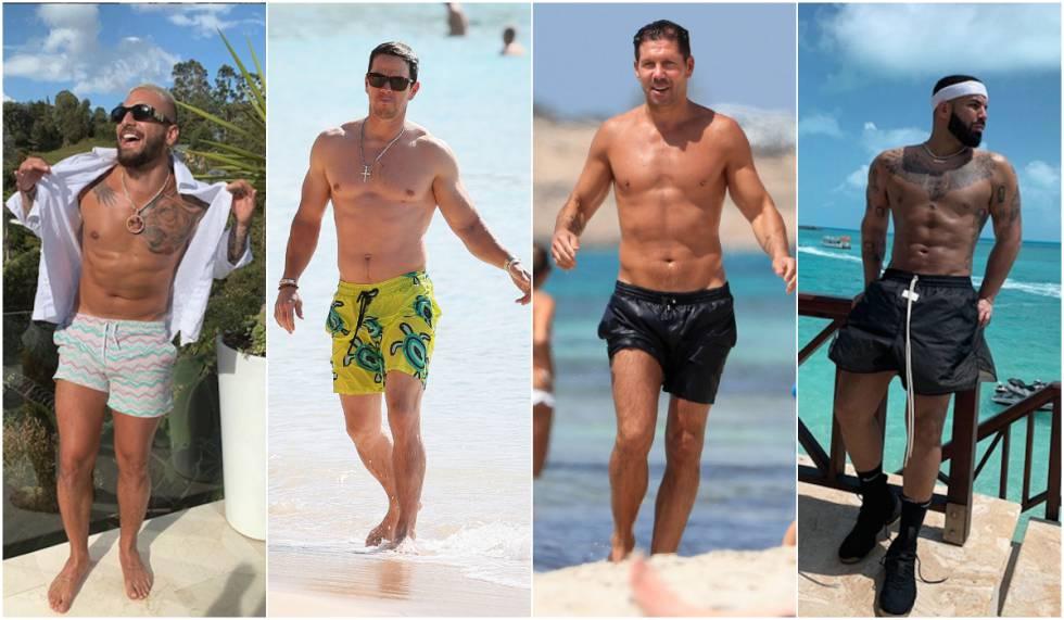 Los once hombres que llevan el bañador con más estilo   ICON