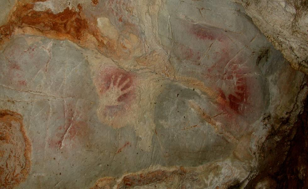 El niño descuartizado entre pinturas rupestres