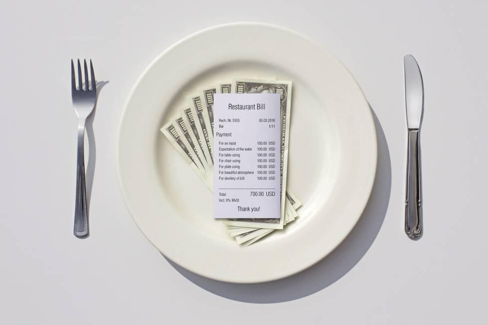 Veinte trucos que emplean los restaurantes para que gastemos más