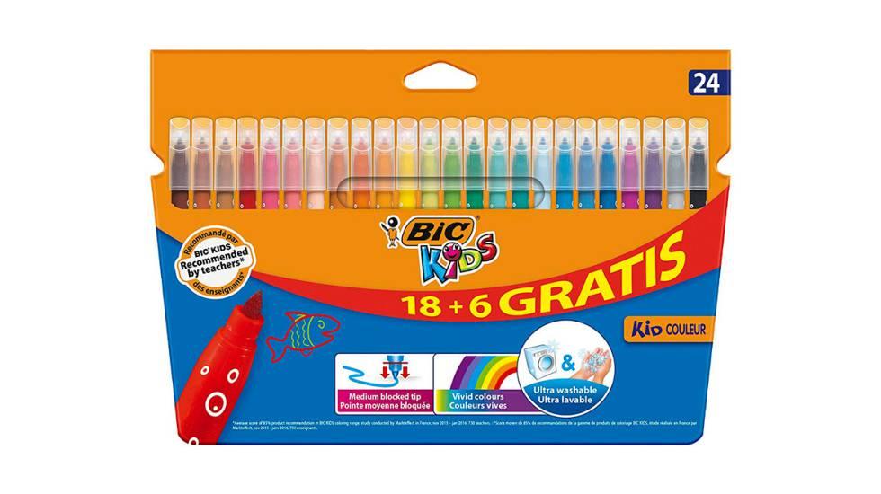 Caja de rotuladores BIC Kids Couleur