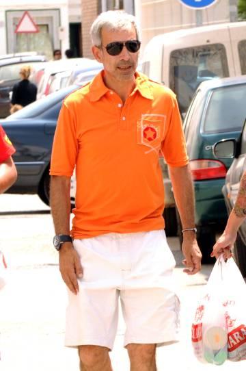 El actor Imanol Arias, en Zahara de los Atunes.
