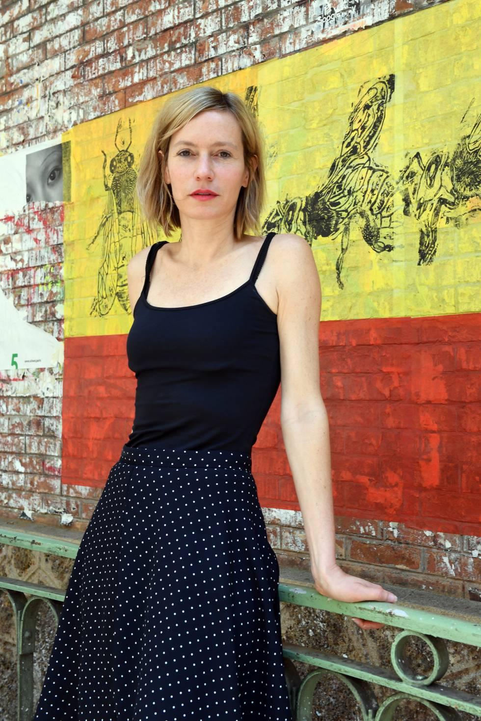 La escritora Géraldine Schwarz, en París el pasado 26 de junio.