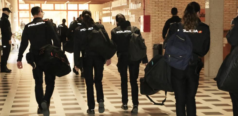 Cómo se forman los aspirantes a policía | Actualidad | EL PAÍS