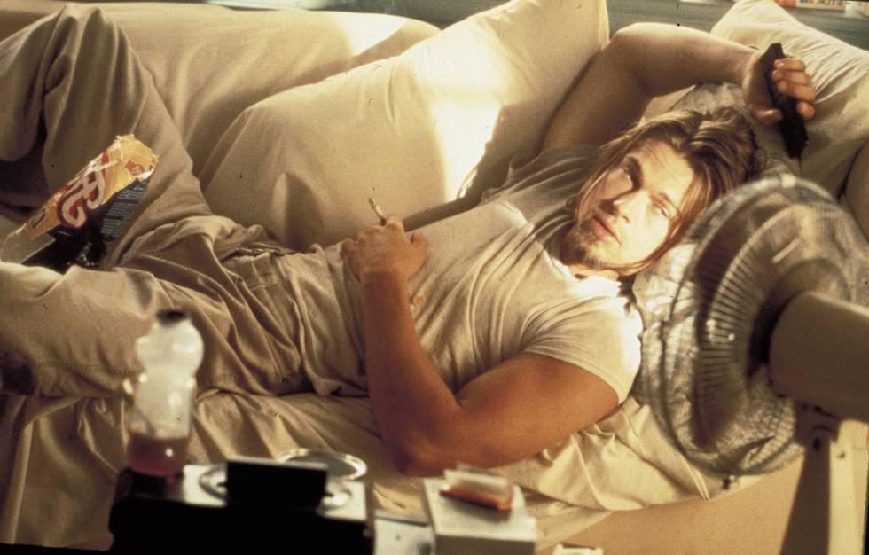 Pitt em 'Amor à Queima-Roupa' (1993).