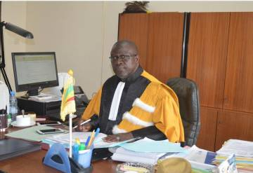 Imagen del profesor Ndioro Sow, cedida por él.