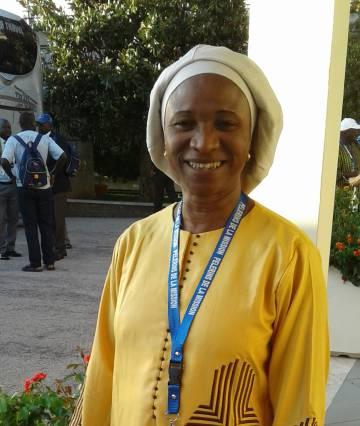 Imagen de la profesora Antoinette Badji Biaye, cedida por ella.