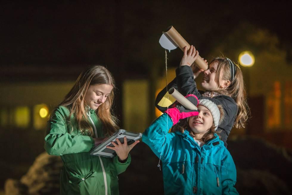 Un rollo de papel de cocina para luchar contra la contaminación lumínica