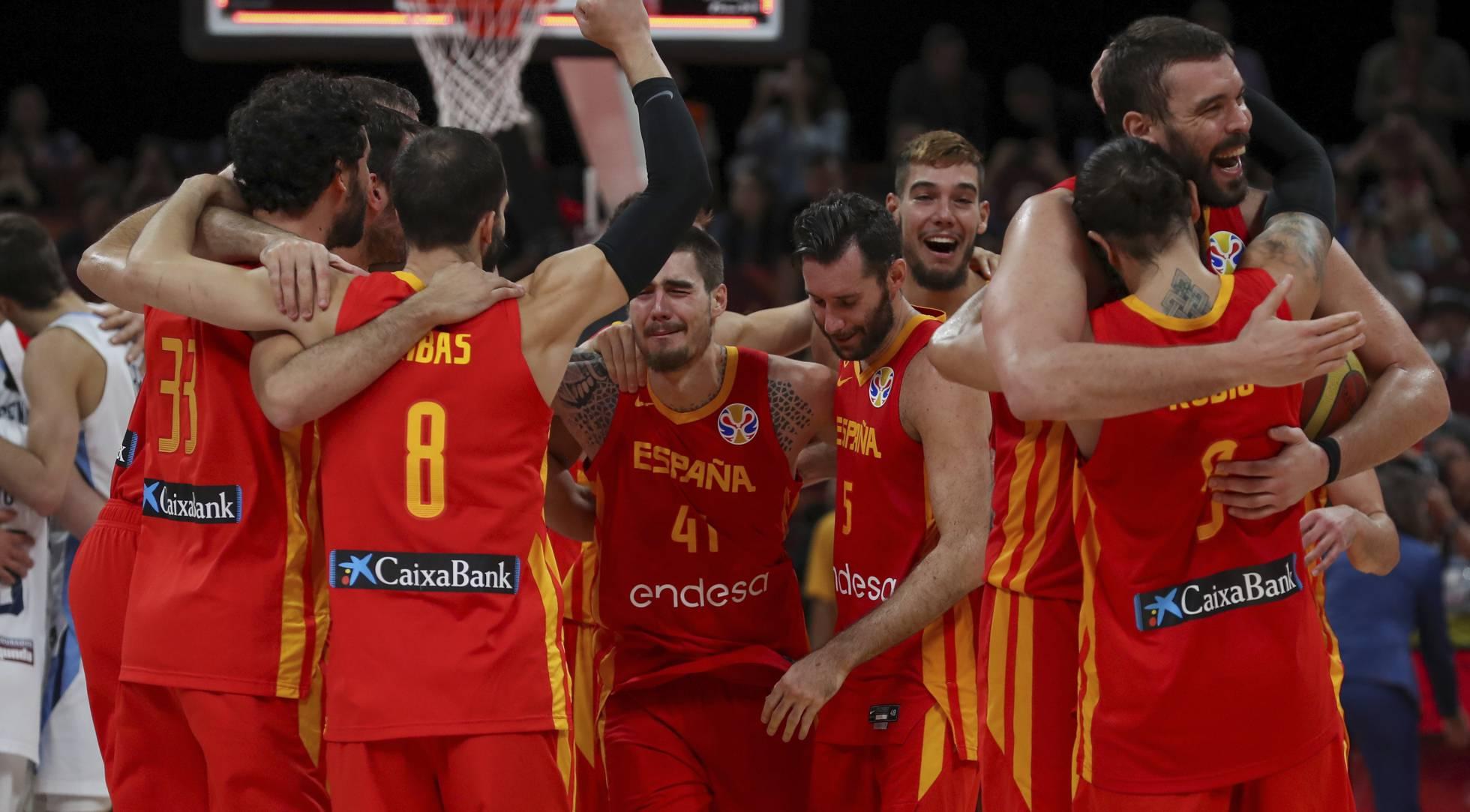 España - Argentina, las imágenes de la final del Mundial de baloncesto