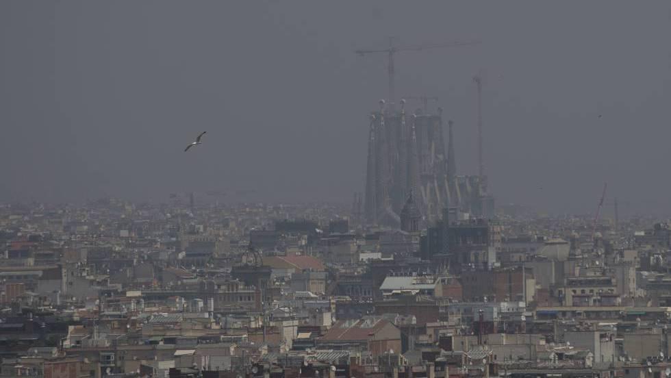 Declarado un episodio de alta contaminación por partículas en toda Cataluña