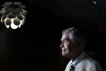 El filósofo y profesor argentino Mario Bunge, fotografiado en Madrid