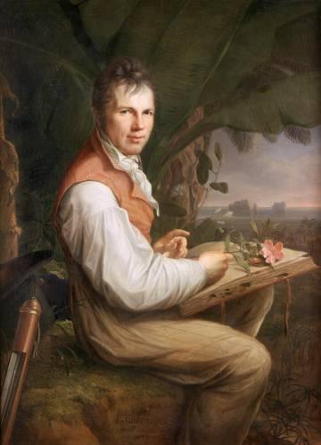Retrato de Alexander von Humboldt realizado en 1806 por Friedrich Georg Weitsch.