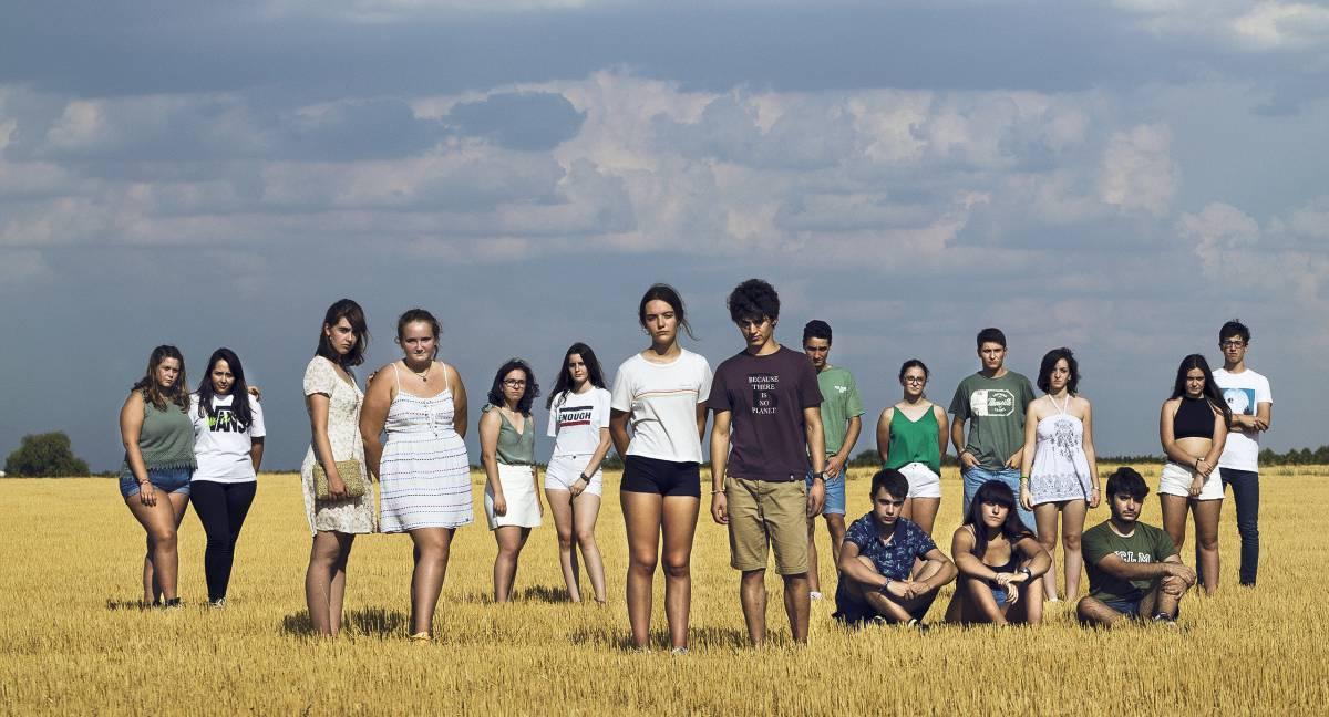 Miembros de Juventud por el Clima de Tomelloso.