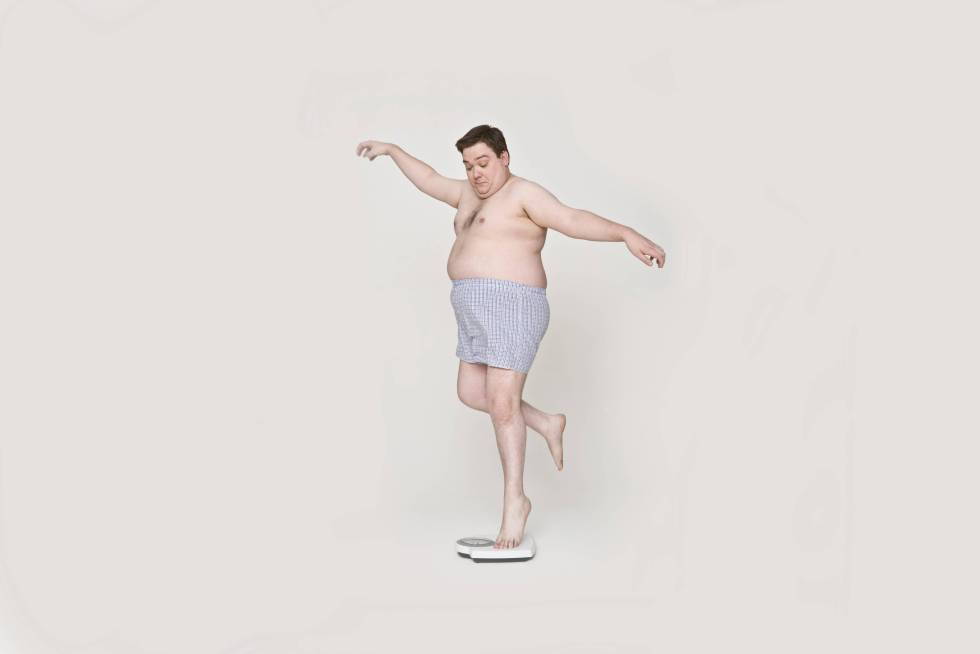 Peso perder fibra ayuda la a