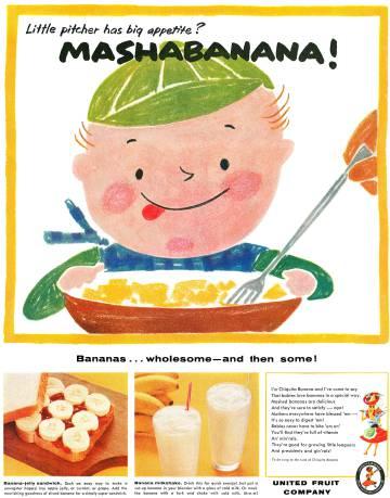 Un anuncio de United Fruit.