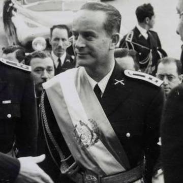 Arriba, Juan José Arévalo; abajo, Jacobo Árbenz.