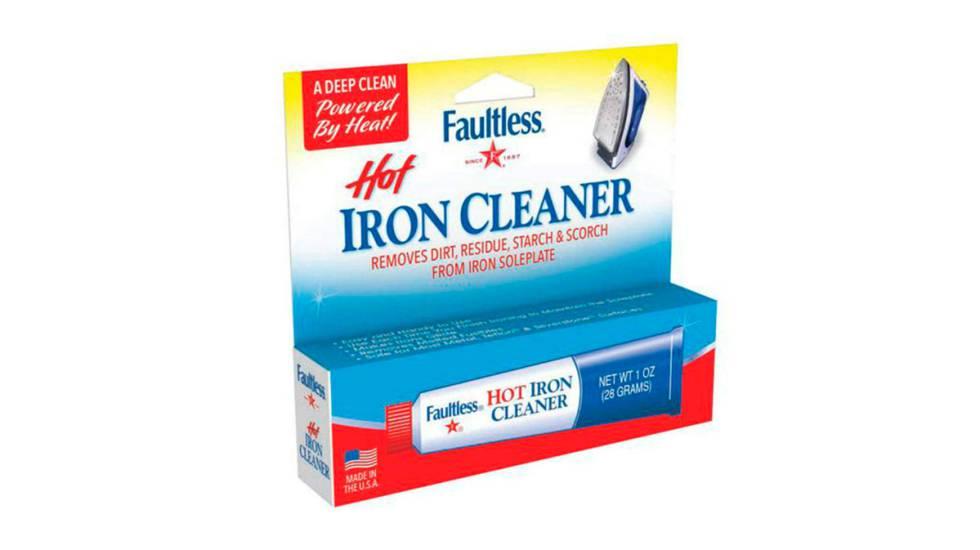 Limpiador de plancha caliente Faultless