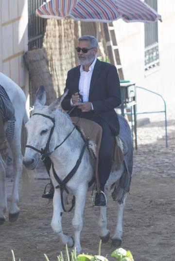 George Clooney, en Navalcarnero.
