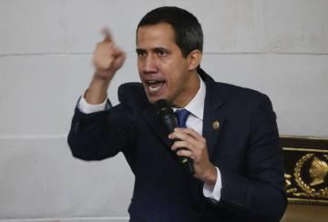 Juan Guaidó, líder de la oposición de Venezela.