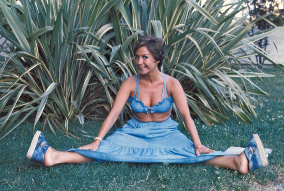 Lina Morgan, aquí retratada en 1975, fue una de las cómicas más queridas de España y se hizo millonaria gracias al gran éxito de sus obras teatrales y series de televisión, pero siempre llevó una vida solitaria.