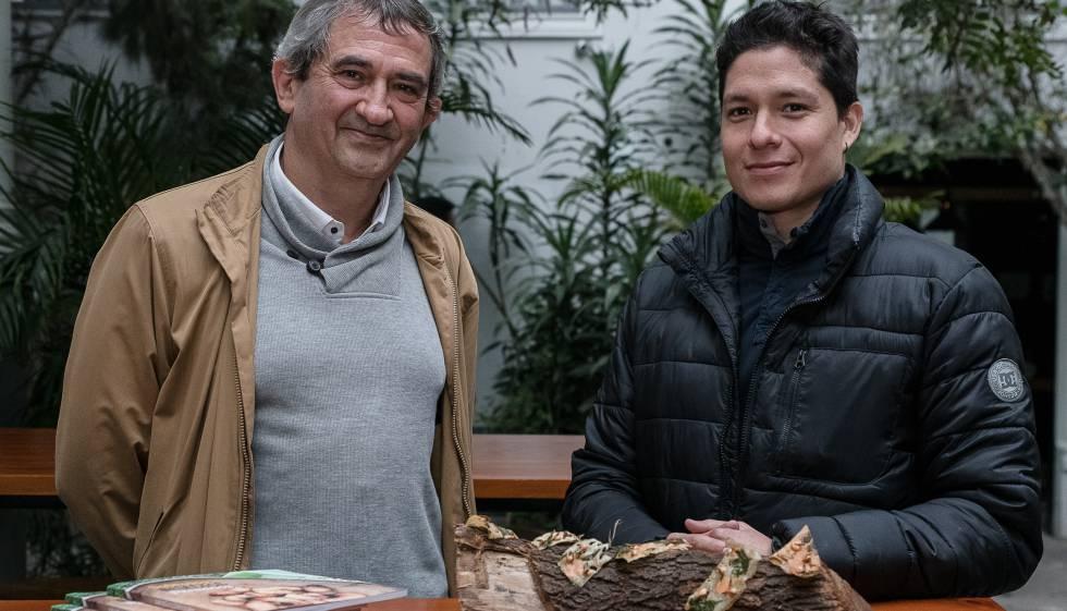 Michel Sauvain, químico, y Palmiro Ocampo, chef.
