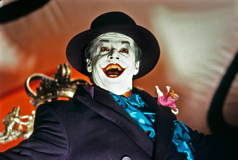 películas del joker Jack Nicholson