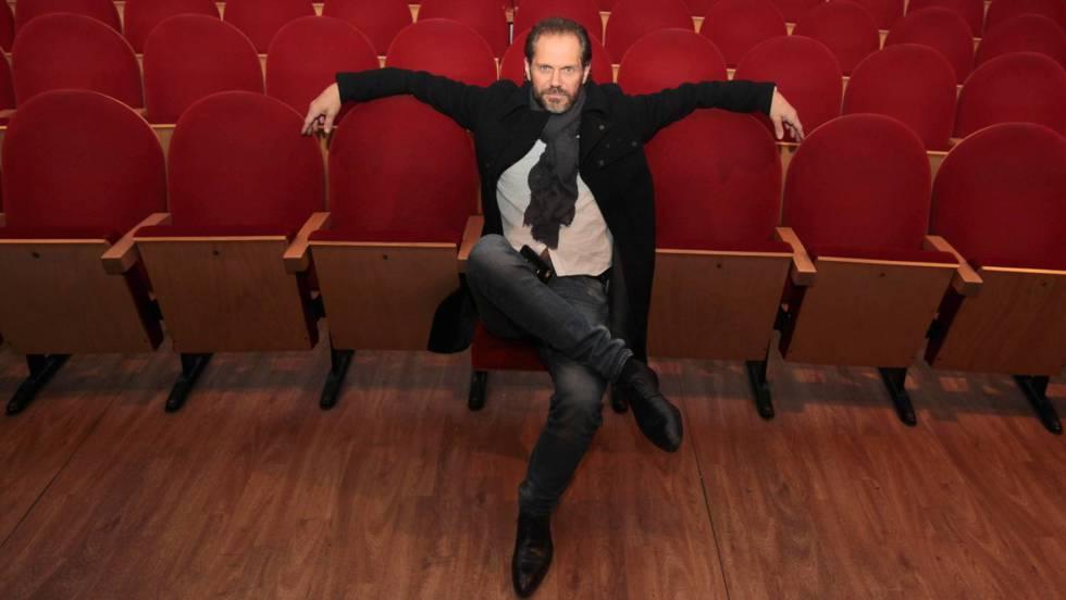 Nacho Vidal, en el Teatro Abadía de Málaga.