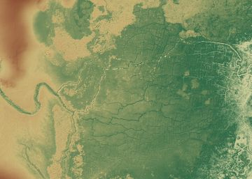 Encontrada uma enorme rede de canais e cultivos maias oculta sob a selva