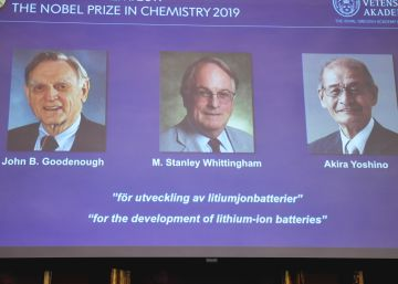Nobel de Química vai para os pais da bateria recarregável de íons de lítio