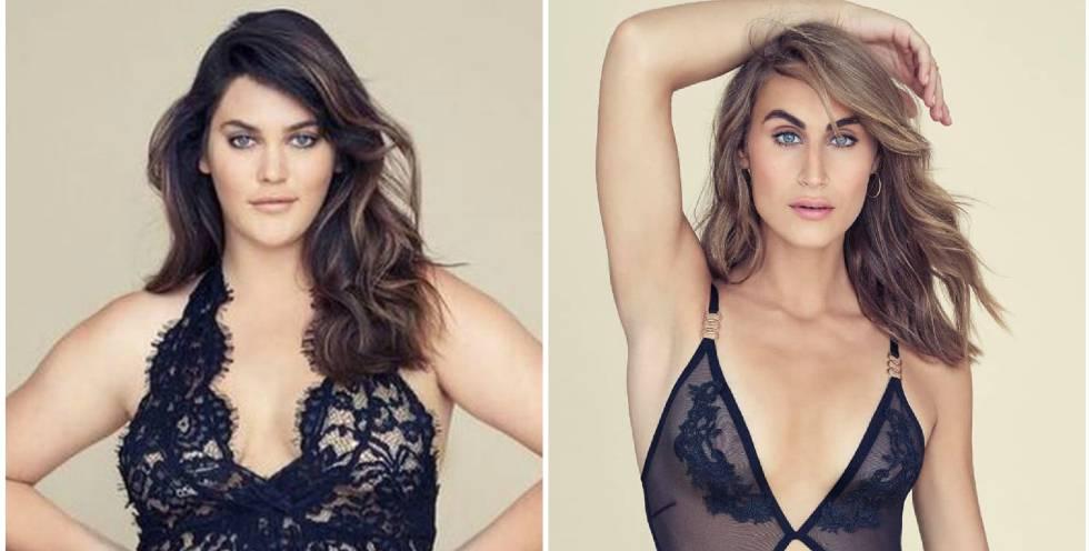 Una Modelo De Tallas Grandes Y Otra Transexual Para Lavar La Imagen De Victoria S Secret Gente Y Famosos El Pais