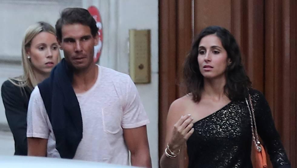 Rafa Nadal y Mery Perelló.