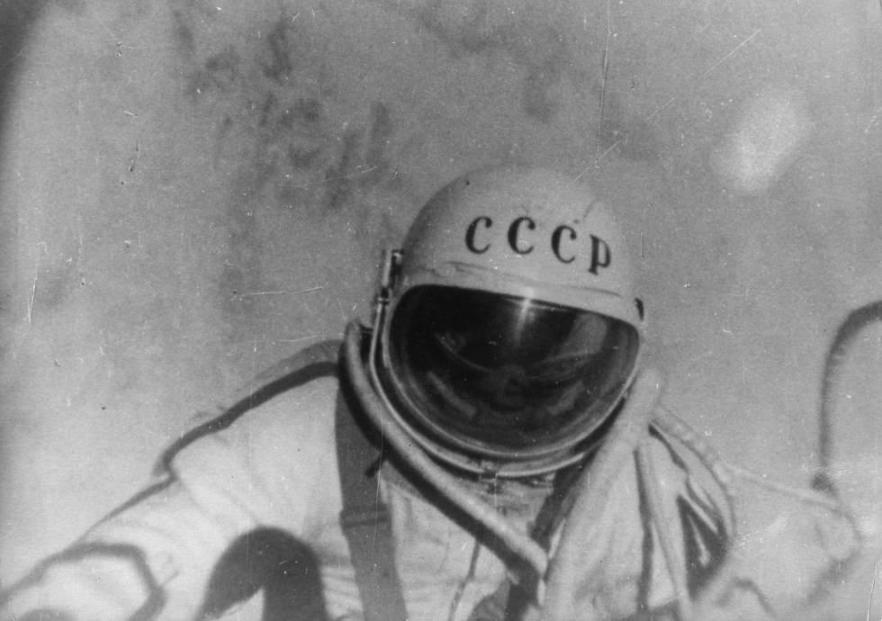 El cosmonauta Alexei Leonov en una imagen de archivo.