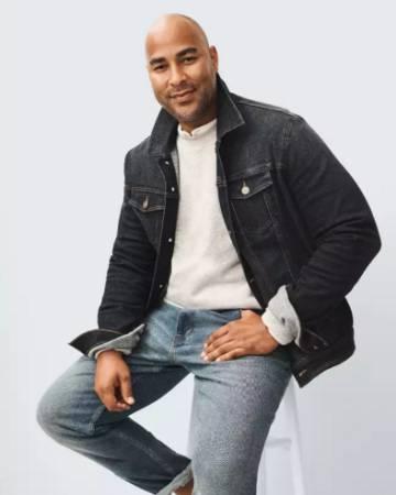 El modelo Miguel Perdomo en uno de sus trabajos para la marca estadounidense Target esta temporada.