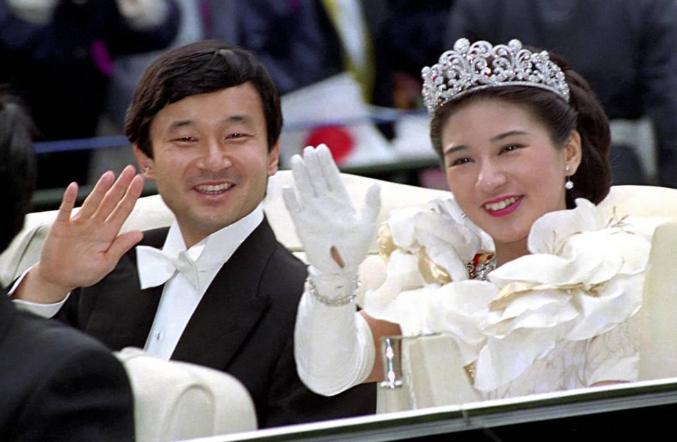 Los emperadores Naruhito y Masako.