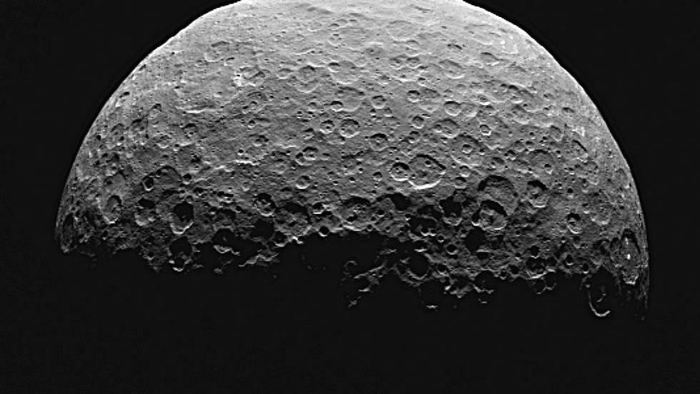 Imagen de Ceres tomada por la sonda 'Dawn'.